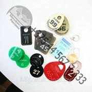 Номерки для гардероба. Широкий выбор фото