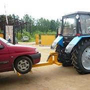 Буксир легковых автомобилей на базе тракторов МТЗ фото