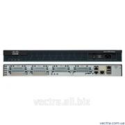 Маршрутизатор Cisco 2901 w/2 GE,4 EHWIC,2 DSP, 256MB CF,512MB DRAM,IP Base (CISCO2901/K9) фото