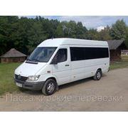 Пассажирские перевозки по г. Киеву и Украине фото