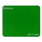 Коврик для мыши Defender - Opti Laser, Silver Laser stick, прямоугольный, однотонный, очень тонкий - 0.4мм фото