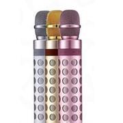 Беспроводной микрофон-караоке с встроенной колонкой Palm KTV X602 (K8) (розовый) фото