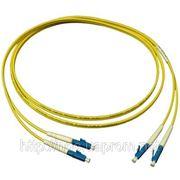 Волоконно-оптический патч-корд LC/UPC-LC/UPC, Single mode,Duplex, 3м фото