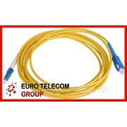 Оптический патч-корд SC/UPC-SC/UPC 3 метра simplex фото