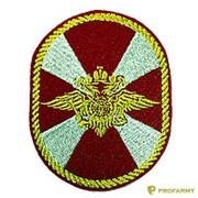 Шеврон МВД Внутренние войска (овал) фото