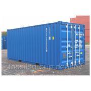 Морской контейнер 40 футов фото