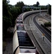 Железнодорожные грузоперевозки. фото