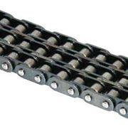Роликовые цепи с прямым контуром пластин серии A фото