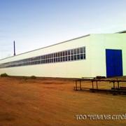 Строительство металлических ангаров, складов, комплексов фото