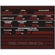 Промышленные электронные табло. фото
