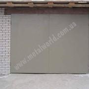 Ворота из листового металла купить, в украине, цена, фото фото