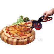 Ножницы для пиццы с сервером лопаткой фото