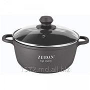 Кастрюля литая с крышкой - 4,5 л. Zeidan Z-50217 фото