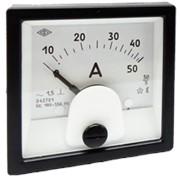 Амперметр переменного тока (60х60 мм) Э42701 фото