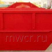 Бункер для отходов 8м3 2/3мм фото