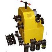 Трубогиб вальцовщик 220 в 1.5 кВт Трубогиб электрическийс насадками-вальцами под трубу и профильную трубу фото