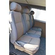 Перетяжка сидений микроавтобусов фото