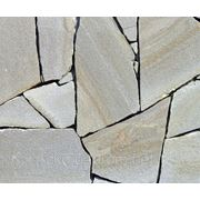 Камень песчаник, натуральный камень, плитняк, дикий песчаник фото