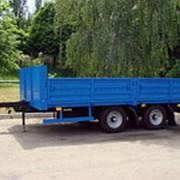 Прицеп с центрально-расположенными осями СЗАП-830622 (КАМАЗ) фото