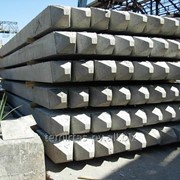 Сваи забивные железобетонные цельные, квадратного сплошного сечения 400х400 мм. марка С 60.40 – 8 фото