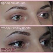 Глаза перманентный макияж фото