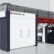 MIRAFLEX A - экономичная флексопечатная машина с технологией сливов для запечатывания гибких упаковок. фото