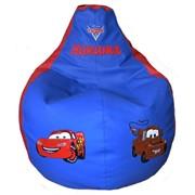Кресло мешок груша ТАЧКИ (размер L) фото