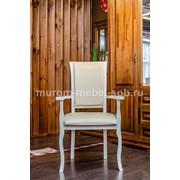 Кресло Легранж (белая эмаль, береза) фото
