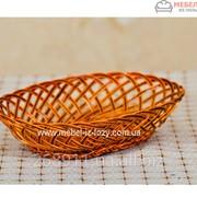 Хлебница плетеная Овал Код: Арт 046-6 фото