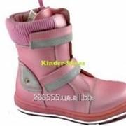 Полуботиночки для девочки Шалунишка, 282-02 р27-32 розовый фото