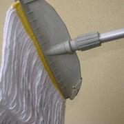 Швабра верёвочная Кентукки,широкая,29 см. фото