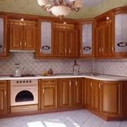 Фасады из натурального дерева для кухонь, изготовление фасадов для кухни под заказ в Украине,Цена договорная фото