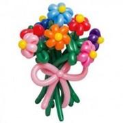 9 цветочков из шариков фото