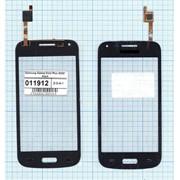 Сенсорное стекло (тачскрин) для Samsung Galaxy Core Plus G350 black, Диагональ 4.3, 480x800 фото