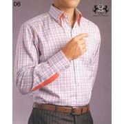 Рубашка мужчкая в стиле Casual p06 фото