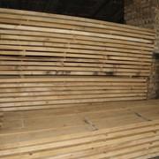 Доска буковая обрезная, sawn beech lumbers, edged фото