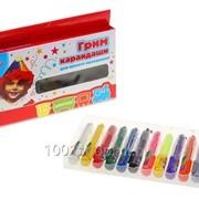 Краски-грим карандаши для лица и тела, набор 12 цветов фото