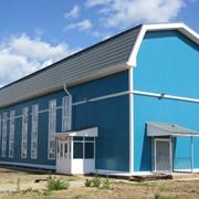 Производство и монтаж зданий из металлоконструкций и сэндвич-панелей фото