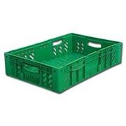 Коробчатый ящик-поддон пластиковый фото