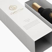 Качественная жёсткая упаковка для вина фото