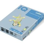 Бумага цветная iq color A4, 80г/м2, obl70-голубой лед 500л. OBL70-80 фото