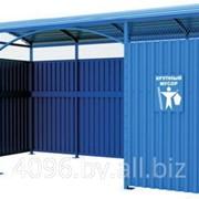 Площадка для мусорных контейнеров (Контейнерная площадка) фото