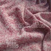 Ткань Трикотаж вязаный (малиновый) 5242 фото
