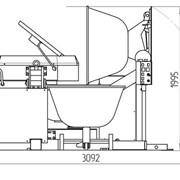 Тестомесильная машина Прима-300Р с загрузчиком опары фото