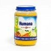Пюре Нumana Овощи с рисом и индейкой, с 8 мес 190 гр фото