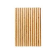 Доска разд. полосатая, 32*22см, бамбук 503 фото