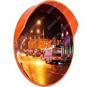 Зеркало сферическое с козырьком ЗС-600 фото