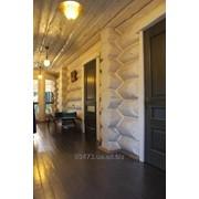 Здания из деревянного сруба фото