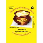 Масло сливочное «Крестьянское», ГОСТ Р 52969-2008, м.д.ж. 72,5% фото