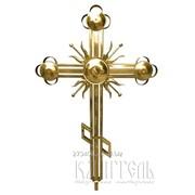 Крест накупольный церковный 2 фото